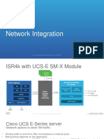 UCS E Series Overview Part 2 Network Integration High Availability and Redundancy