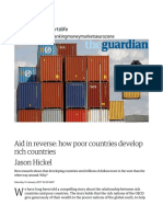 Poor Countries Develop Rich Countries