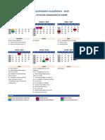 Calendario Academico SP2 AEDU Sumaré