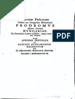 Frölich Dávid [1595-1648] - A magyarok kronikaja [A magyarok eredete, Hunok Amerikaban]
