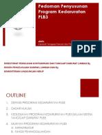 Pedoman Penyusunan Program Kedaruratan PLB3