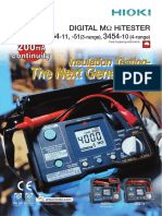 Hioki 3454-11 Brochure