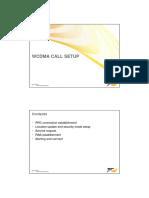 WCDMA Call Setup