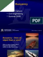 Buoyancy Cahoon