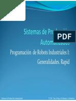 11-Programacion Robots Generalidades Rapid