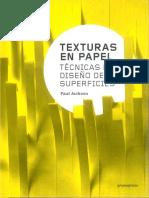 Texturas en papel. Técnicas de diseño de superficies - Paul Jackson.pdf