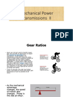 Mechanical Power Transmissions