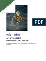 ANAND SAHIB - tradução para o português