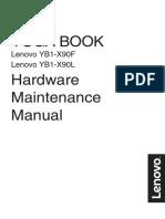 Manual Hardware Lenovo Yoga Book