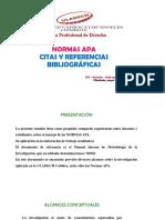 Normas Apa - Bibliografia