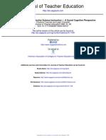 Czerniak (1999)_Teacher Education for Effective Science Education