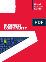 BIFM Business Continuity Good Practice Guide