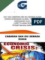 GCI 1022 Pembentangan Krisis Kewangan