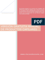 Clara Valenzuela Manual Productos Capilares