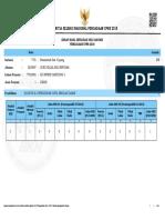 Lampiran I - Pengmumuman Kelulusan CPNS Kab. Kupang Tahun 2018