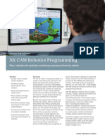 10 NX CAM Robotics Programming