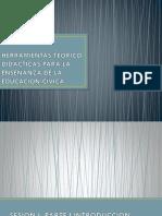 Herramientas Teórico Didácticas Para La Enseñanza e