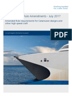 MO Aluminium Catamarans Rule Developments Supporting Document V1.0