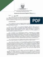Directiva Tacna de Destaque