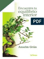 Encuentra Tu Equilibrio Interior_Anselm Grün