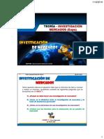 Teoría - Investigación Mercados (Expo) - 2