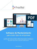 Fracttal software de mantenimiento