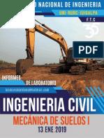 Mecánica de Suelos Informes 2019