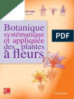 Botanique Systematique Et Appliquee Des Plantes a Fleurs Sommaire