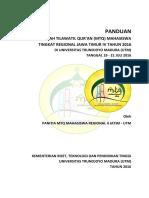 Panduan Mtq Mr Jatim IV 2016 Utm