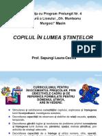 Sapungi Laura Cecilia Copilul În Lumea Ştiinţelor (1)