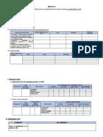 Formato Del Informe Técnico Pedagógico Del Docente Del Aula