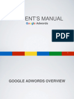 Adwords Training Manual