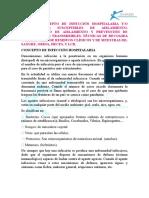 Tema 16 Concepto de Infeccion Hospitalaria