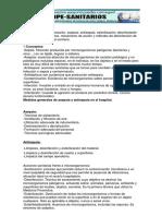 Tema 14 Métodos de Esterilización e Instrumental Sanitario