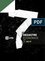 ANALIZĂ 7 dezastre economice în 2019