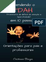 Entendendo o Tdah Em 10 Passos(Orientações Para Pais e Professores) Canva