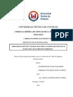 Calculos Manuales en Detalle y Escogencia