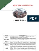 PLAN OPERATIVO ANUAL 2017-2018