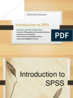 LEC#1 Introduction to SPSS