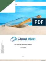 Cloud Alert Messaging Gateway - User Guide