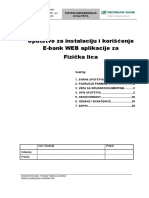 Uputstvo E-bank Fizicka Lica