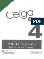 libro de lectura proba oral celga 4