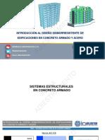 Estudio de lo sistemas sismoresistente