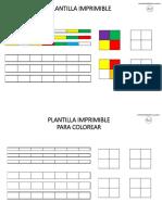 Plantilla Imprimible Composicion Colores