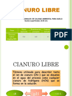 Cianuro Libre 2013