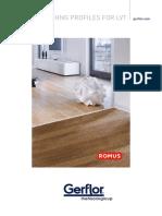 Gerflor Romus Finishing Profiles for Lvt en PDF 348