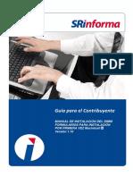 Manual de Instalacion SRI DIMM Formularios Macintosh 1 10