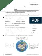 Plan de Mejora Sociales 3 primaria tema 2