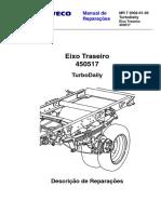 DAILY 4 X 2 MR 7 2002-01-30 Eixo Traseiro 450517