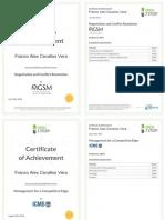 Open2Study Certificates - Cevallos Vera Franco Alex